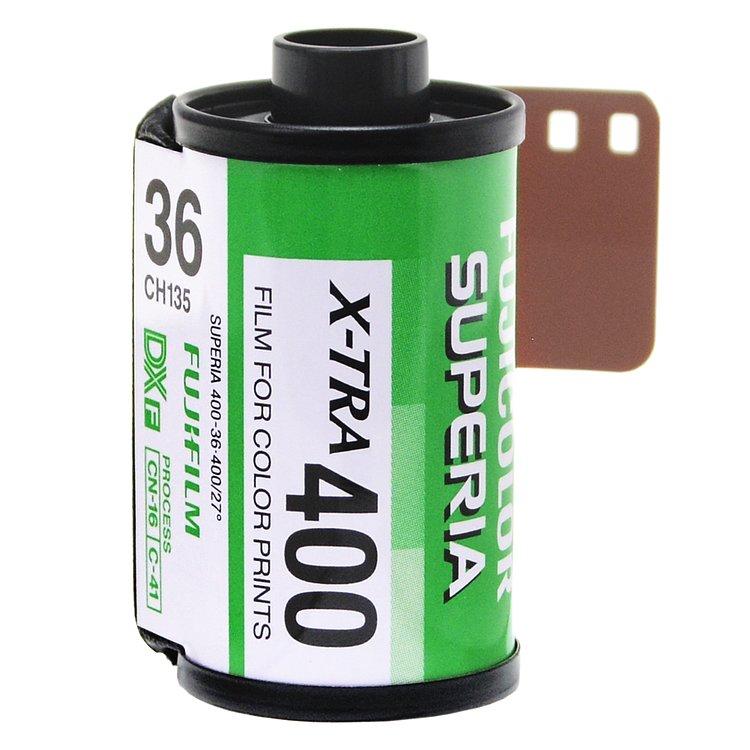 Film Superia X-Tra 400 135-36 (à l'unité)