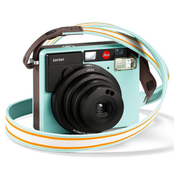 Leica Sofort Sangle Menthe & Appareil