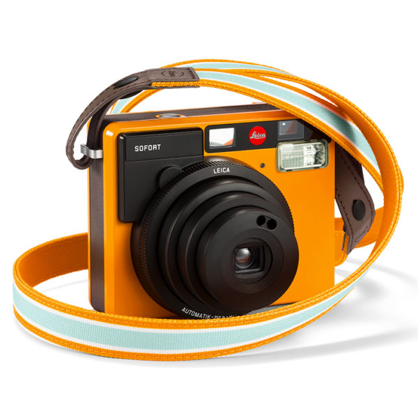 Leica Sofort Sangle Orange & Appareil