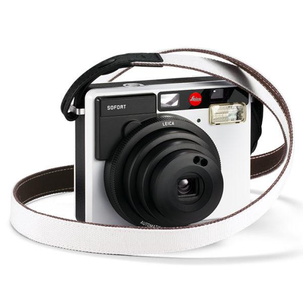 Leica Sofort Sangle Blanche & Appareil
