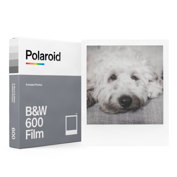 Polaroid 600 N&B Lockup