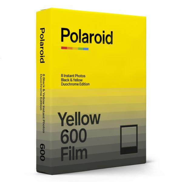 Polaroid 600 Duochrome Black & Yellow Side