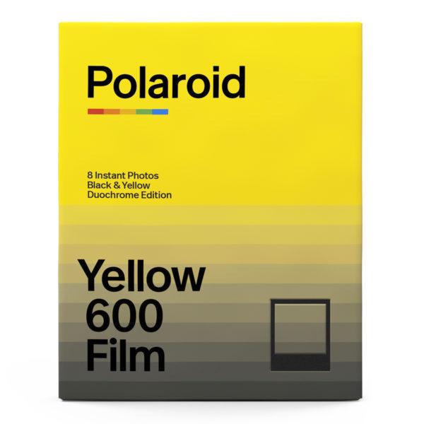 Polaroid 600 Duochrome Black & Yellow