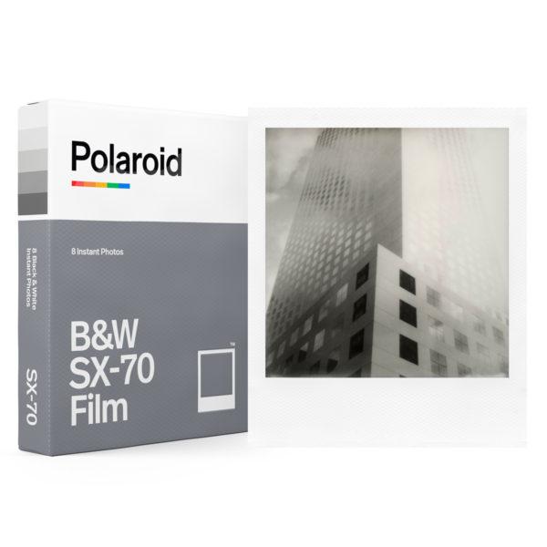 Polaroid SX-70 N&B Lockup