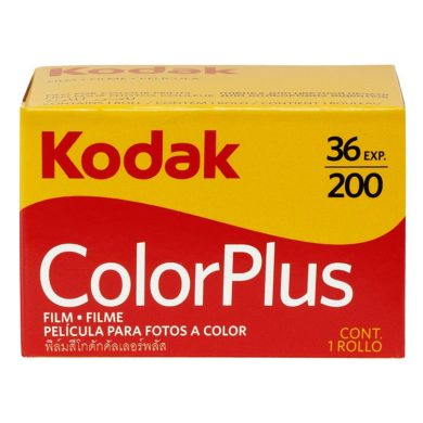 Kodak Colorplus 200 Box
