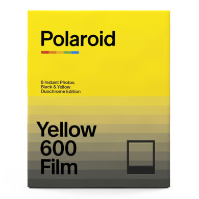 Polaroid 600 Duochrome Black & Yellow