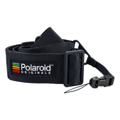 Polaroid Sangle Plate Noire