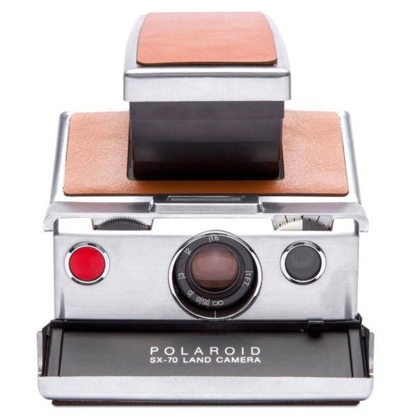 Polaroid SX-70 Silver/Brown