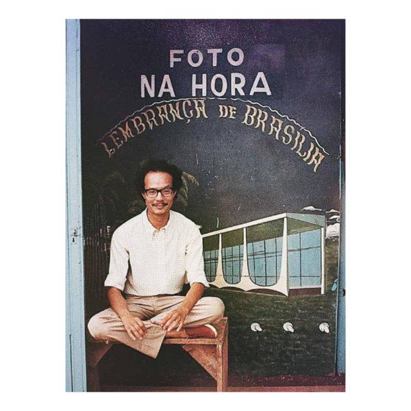 Joaquim Paiva - Foto na hora lembrança de Brasília 01